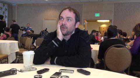 2013 Comic-Con Press Room SUPERNATURAL's Mark Sheppard