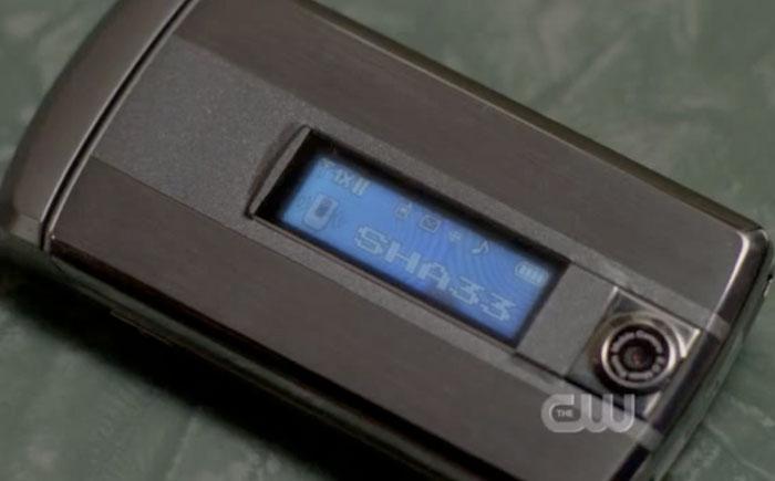 Dean's Cell Phone