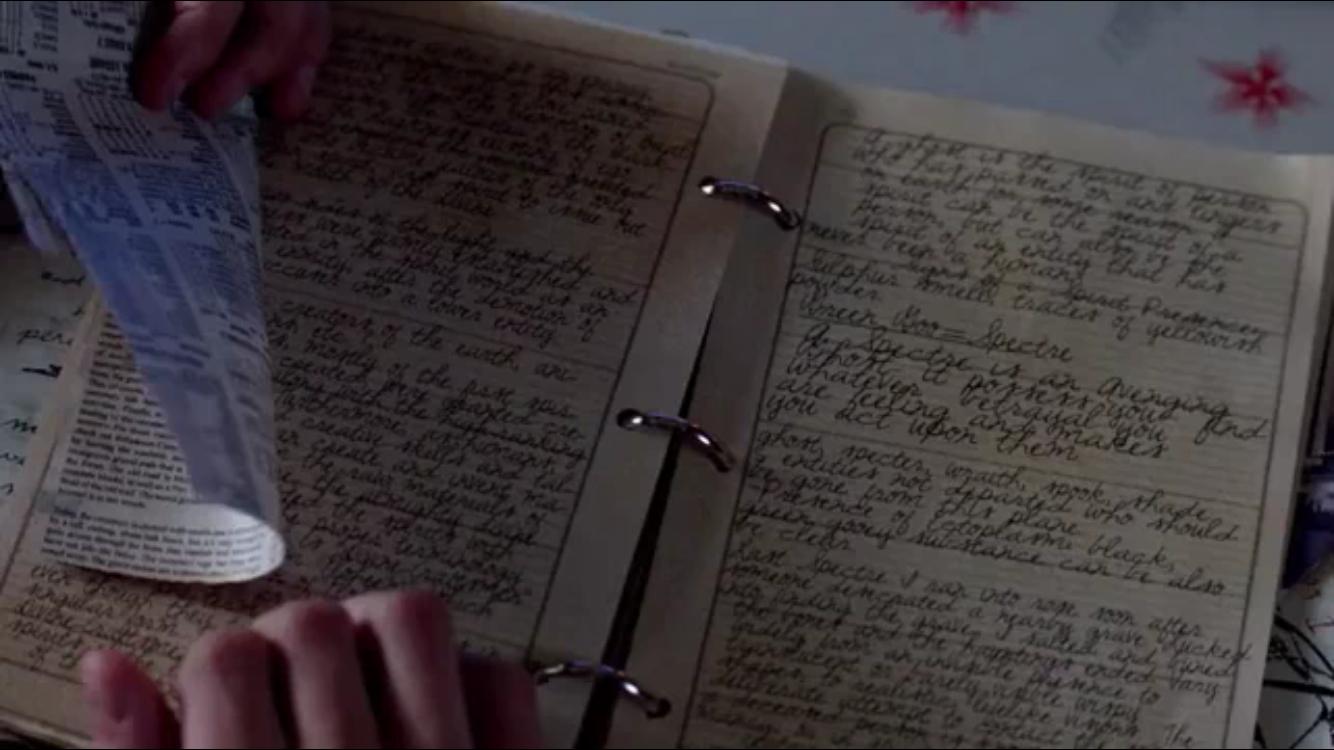 Bobby's journals