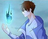 Chen Fan Fogo Azul