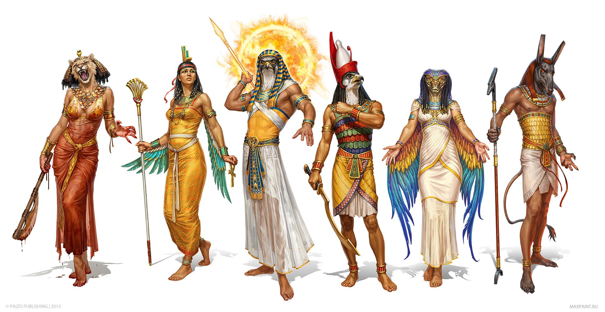 Fisiologia de Divindade Egípcia