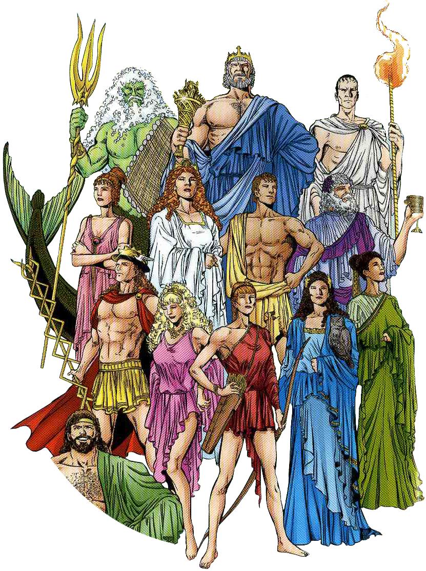 Fisiologia de Divindade Grega