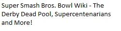 Super Smash Bros. Bowl Wiki