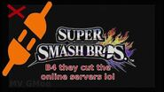 Let's play smash4 online before they cut the online servers loll Pro plays