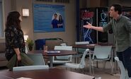 S03E21-Amy Jonah argue Break Room