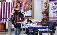 S02E07-Woman exits voting booth