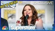 Superstore Panel Highlight What's Next for Dina and Garrett? - Comic-Con 2019 (Digital Exclusive)