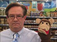 McKinney and monkey puppet