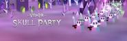 Vengir Skull Party Banner