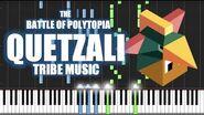 QUETZALI TRIBE MUSIC - The Battle of Polytopia - PIANO TUTORIAL