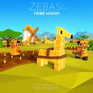 Zebasi Tribe Moon
