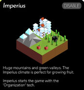 Imperius Appearance