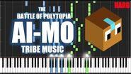 AI-MO TRIBE MUSIC - The Battle of Polytopia - HARD Piano Tutorial