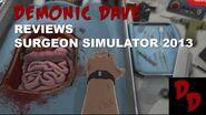 DemonicDave Reviews SurgeonSimulator