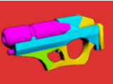 Neon Laser Gun