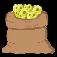 Мешок золотой картошки