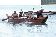 To tang kaoh rong wooden ships