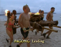 Pagong first immunity challenge