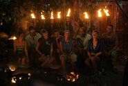 Ulong at their second Tribal Council