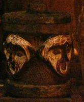 Gabon Urn