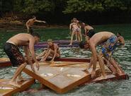 Floating puzzle panama
