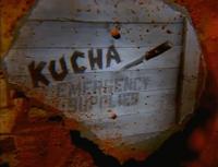 Kucha into shot
