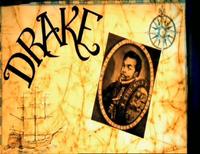 Drake into shot