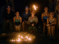 The Outcasts only tribal council
