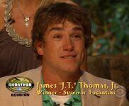 J.T wins