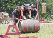 In the barrel tadhana