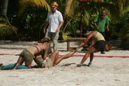 Kicking and screaming cook islands