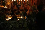 Korror at their third Tribal Council