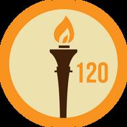 Badge 120dias