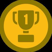 Badge winner
