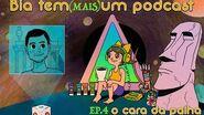 Bia tem (mais) um podcast o cara da palha