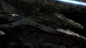 Destiny hits command ship.jpg