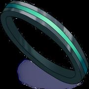 Schwarzer Ring mit grünem Einsatz.png