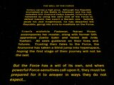 The Will of the Force (UNSWS)