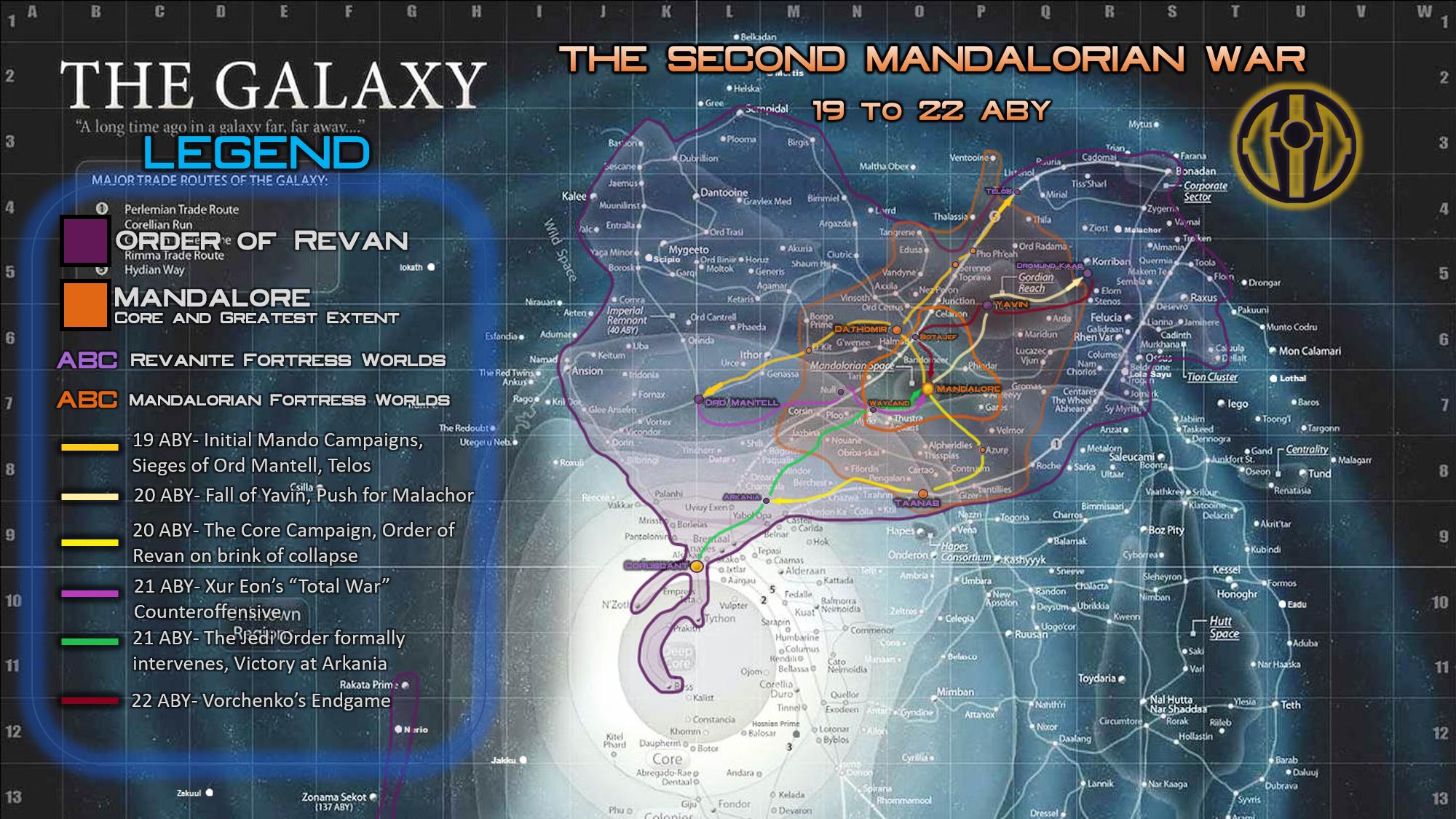 The Second Mandalorian War Eons Timeline Star Wars Fanon Fandom