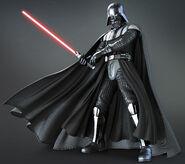 Darth Vader during the Battle of Endor