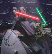 Palpatine vs Yoda