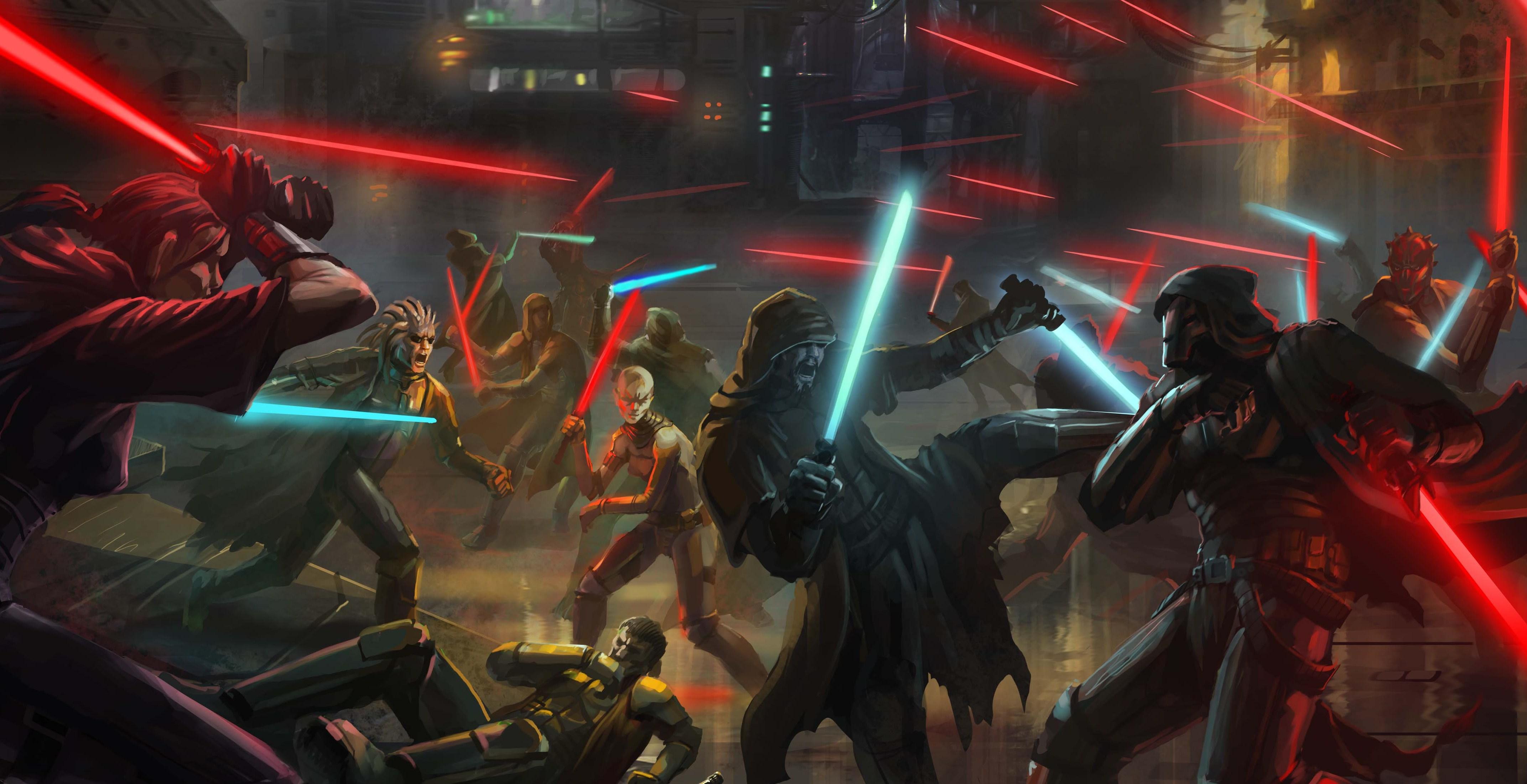 Dark Galactic War