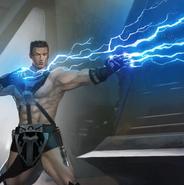 Caspian Zavarai unleashes Force lightning