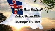 """""""Ode to Jane Zarkan"""" (Andrew N. Kale, ca"""
