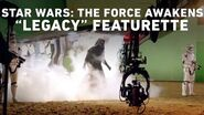 "Star Wars The Force Awakens ""Legacy"" Featurette"