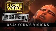Yoda's Visions The Clone Wars - The Lost Missions Q&A