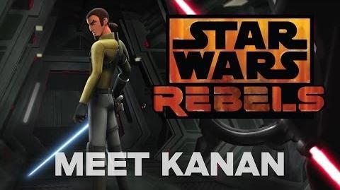 Brandon Rhea/Freddie Prinze Jr Voices Kanan, a Cowboy Jedi