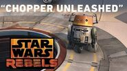 "Star Wars Rebels ""Chopper Unleashed"""