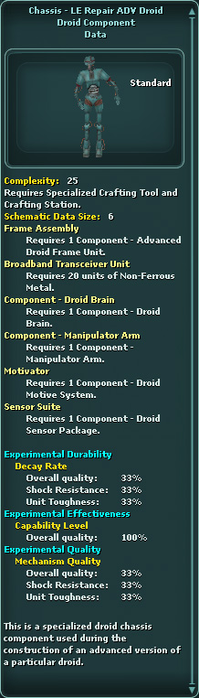 Chassis - LE Repair ADV Droid