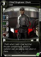 Chief Engineer Olum (card)